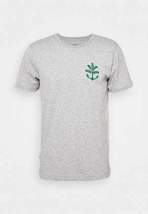 NOKKA  - Print T-shirt - light grey