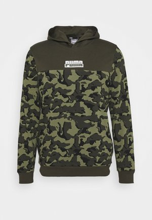 CORE CAMO HOODIE - Sweat à capuche - forest night