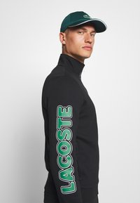 Lacoste Sport - TRACKSUIT - Trainingspak - black/green/white - 5