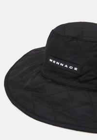 Mennace - QUILTED FISHERMAN HAT UNISEX - Hat - black - 3