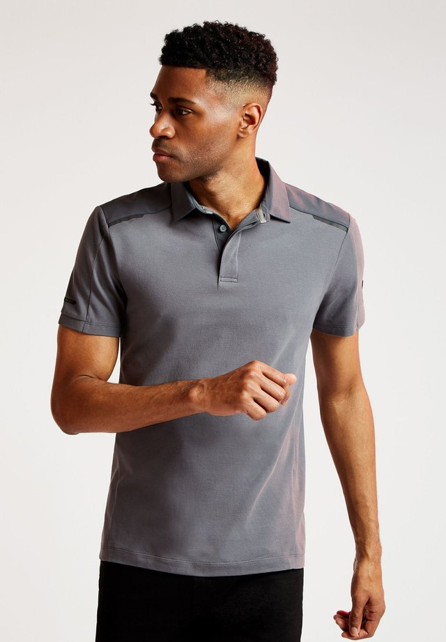 AMR PRO HYBRID  - Polo shirt - iron grey