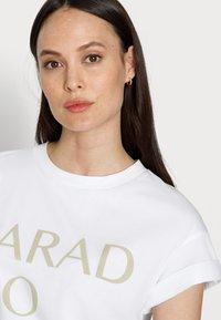 Rich & Royal - PARADISO - Print T-shirt - olive tree - 3