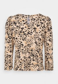Dorothy Perkins Petite - BILLIE AND BLOSSOM FLORAL PUFF SLEEVE - Blouse - camel - 1