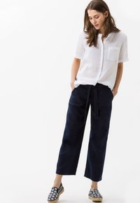 BRAX - STYLE MAINE - Trousers - navy - 1