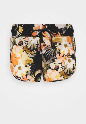 BORA BORA FLORA BOARDSHORT - Swimming shorts - black