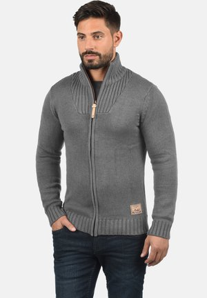 POUL - Vest - grey melange