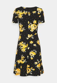 Anna Field - Vestido ligero - Black/yellow - 1
