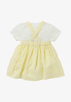 Day dress - naturweiß/gelb eiscreme