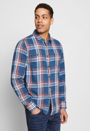 CLEMENS  - Camicia - check indigo