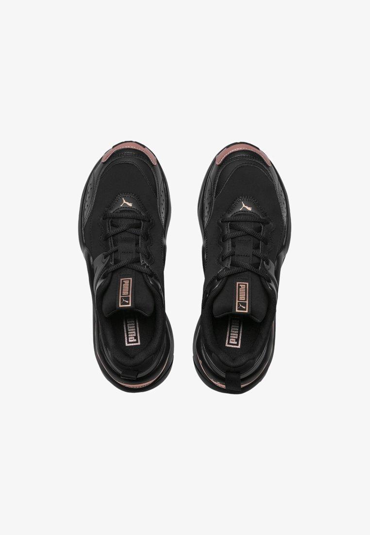 Puma Stabilty Running Shoes Black Rose Gold Black Zalando De