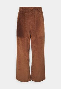 Dedicated - WORKWEAR PANTS VARA - Trousers - friar brown - 5