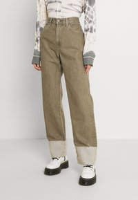 Levi's® Made & Crafted - LONG COLUMN - Relaxed fit jeans - light moss - 0