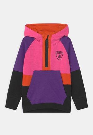 MULTICOLOR HALF ZIP - Sweatshirt - pink johor