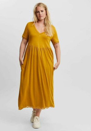 Jersey dress - harvest gold
