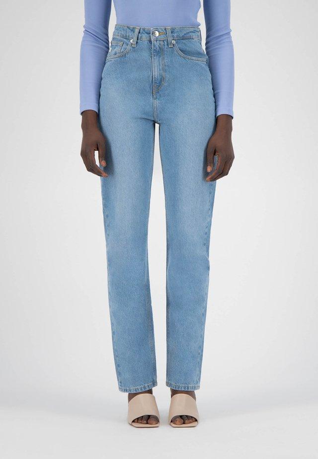 Straight leg jeans - heavy stone