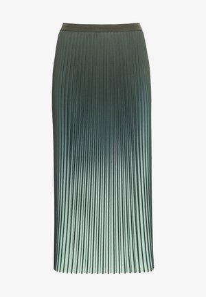A-line skirt - seegrün