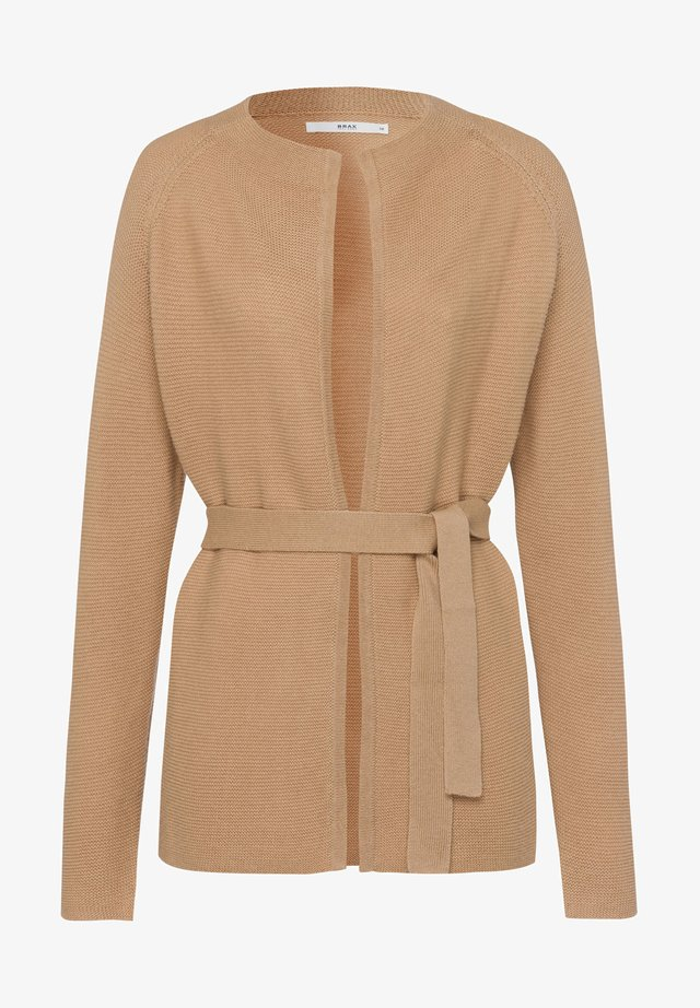 STYLE ANIQUE  - Cardigan - camel