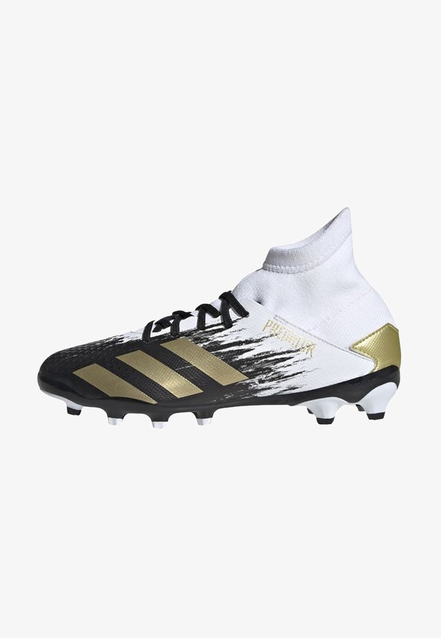 PREDATOR 20.3 FOOTBALL BOOTS MULTI GROUND - Botas de fútbol con tacos - ftwwht/goldmt/cblack