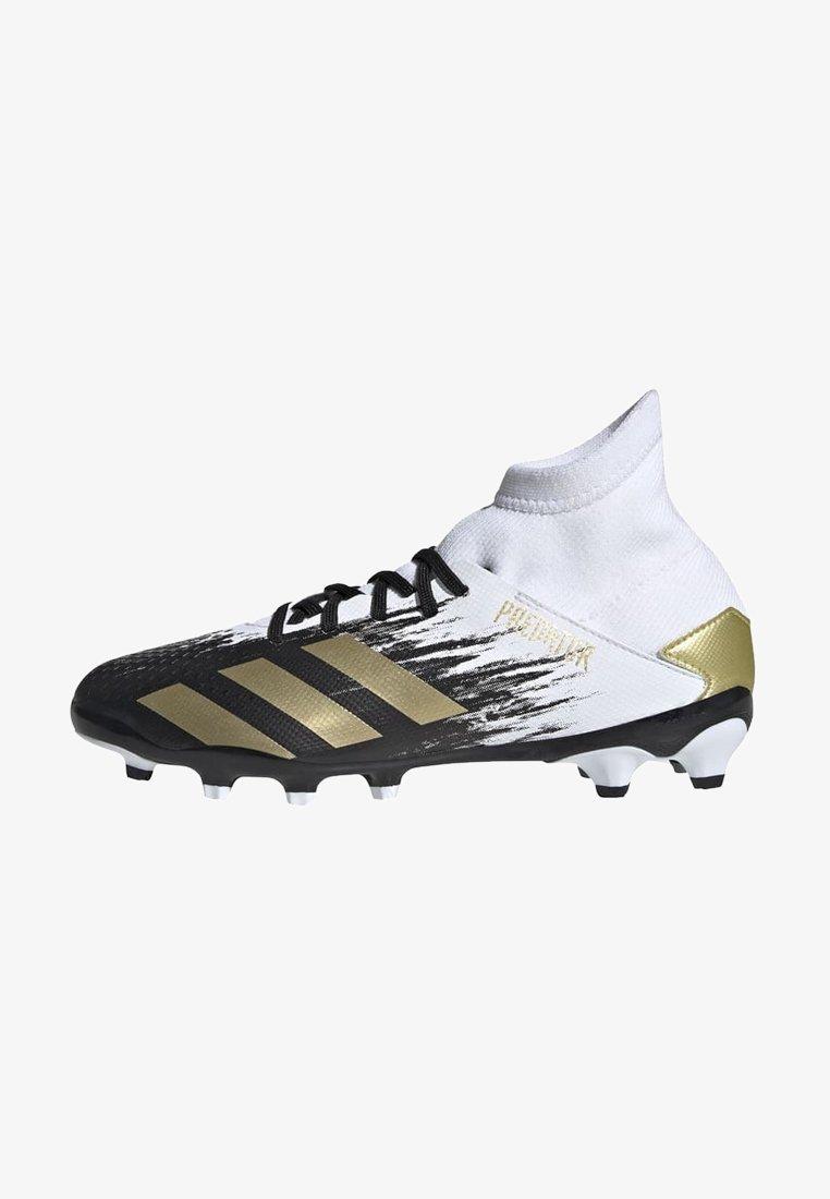 adidas Performance - PREDATOR 20.3 FOOTBALL BOOTS MULTI GROUND - Moulded stud football boots - ftwwht/goldmt/cblack