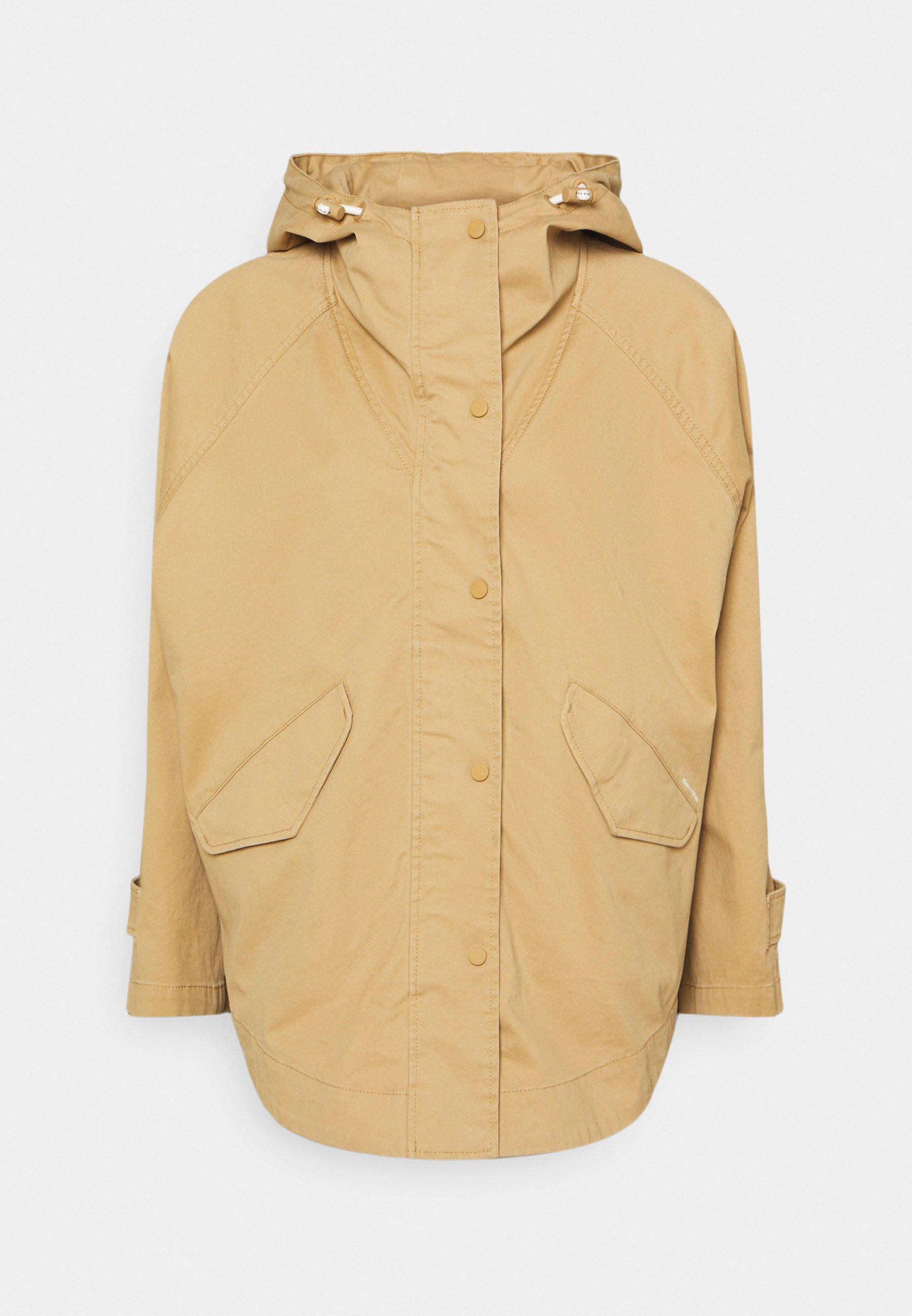 Women CAPE FIX HOOD - Short coat
