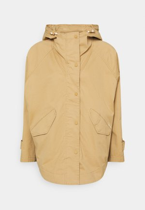 CAPE FIX HOOD - Short coat - sandy beach