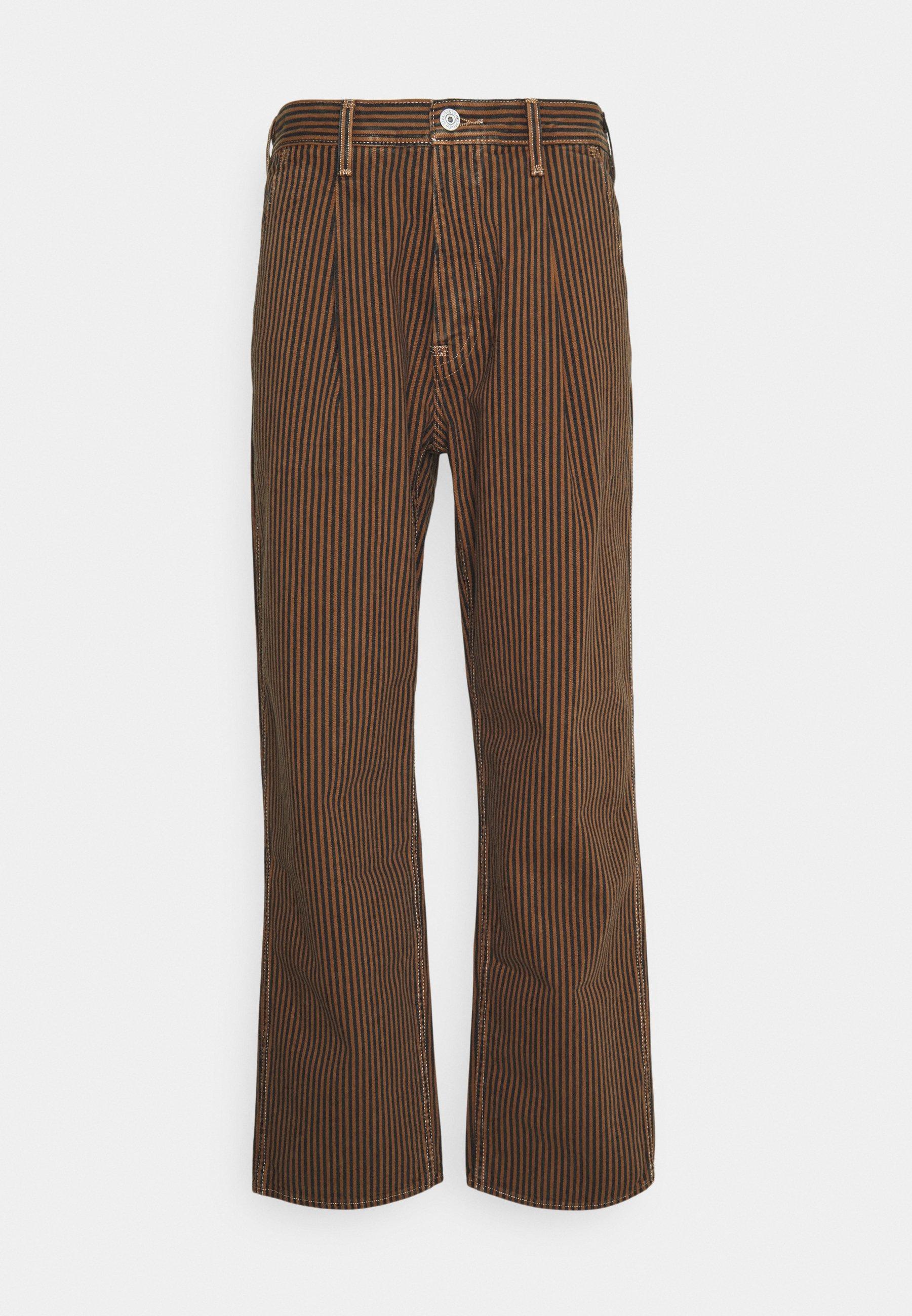 Uomo PLEATED TROUSER - Pantaloni