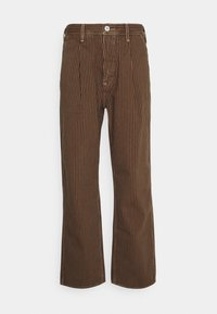 Levi's® - PLEATED TROUSER - Kalhoty - brown - 0