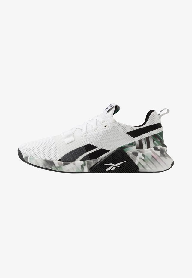 FLASHFILM TRAIN 2.0 - Sports shoes - white/black