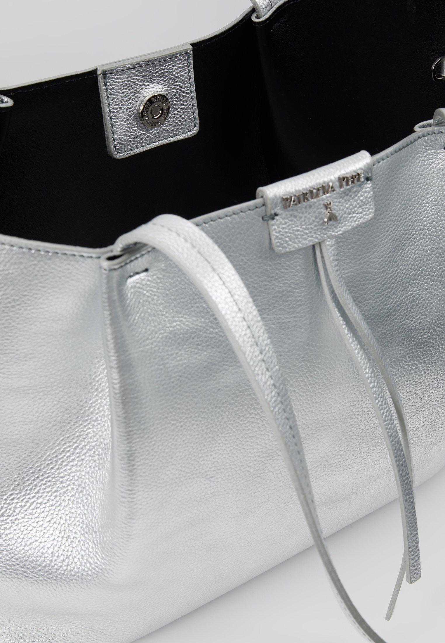 Patrizia Pepe Handtasche - Silver/silber