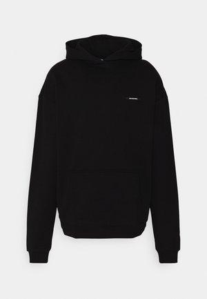 SILENT FLOWERS HOODIE UNISEX - Sweatshirt - black