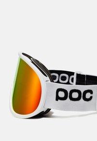 POC - RETINA BIG CLARITY UNISEX - Ski goggles - hydrogen white/spektris orange - 4
