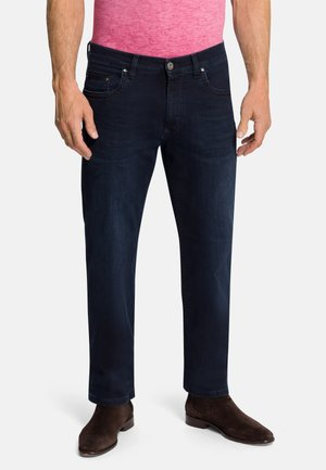 RANDO - Straight leg jeans - dark blue used buffies