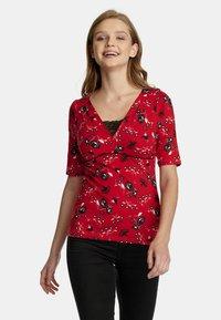 Vive Maria - Print T-shirt - rot allover - 0
