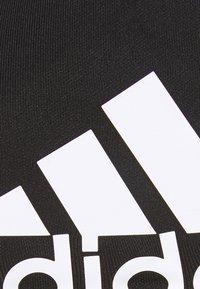 adidas Performance - ALL ME BR DESIGNED4TRAINING AEROREADY COMPRESSION - Brassières de sport à maintien léger - black/white - 5