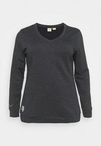 Ragwear Plus - NELIN  - Mikina - black - 0