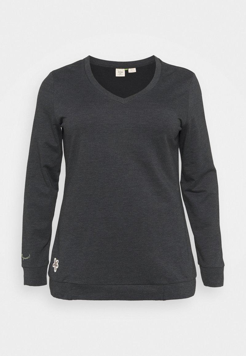 Ragwear Plus - NELIN  - Mikina - black