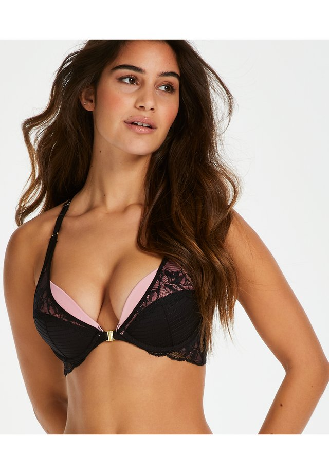 Push-up bra - black