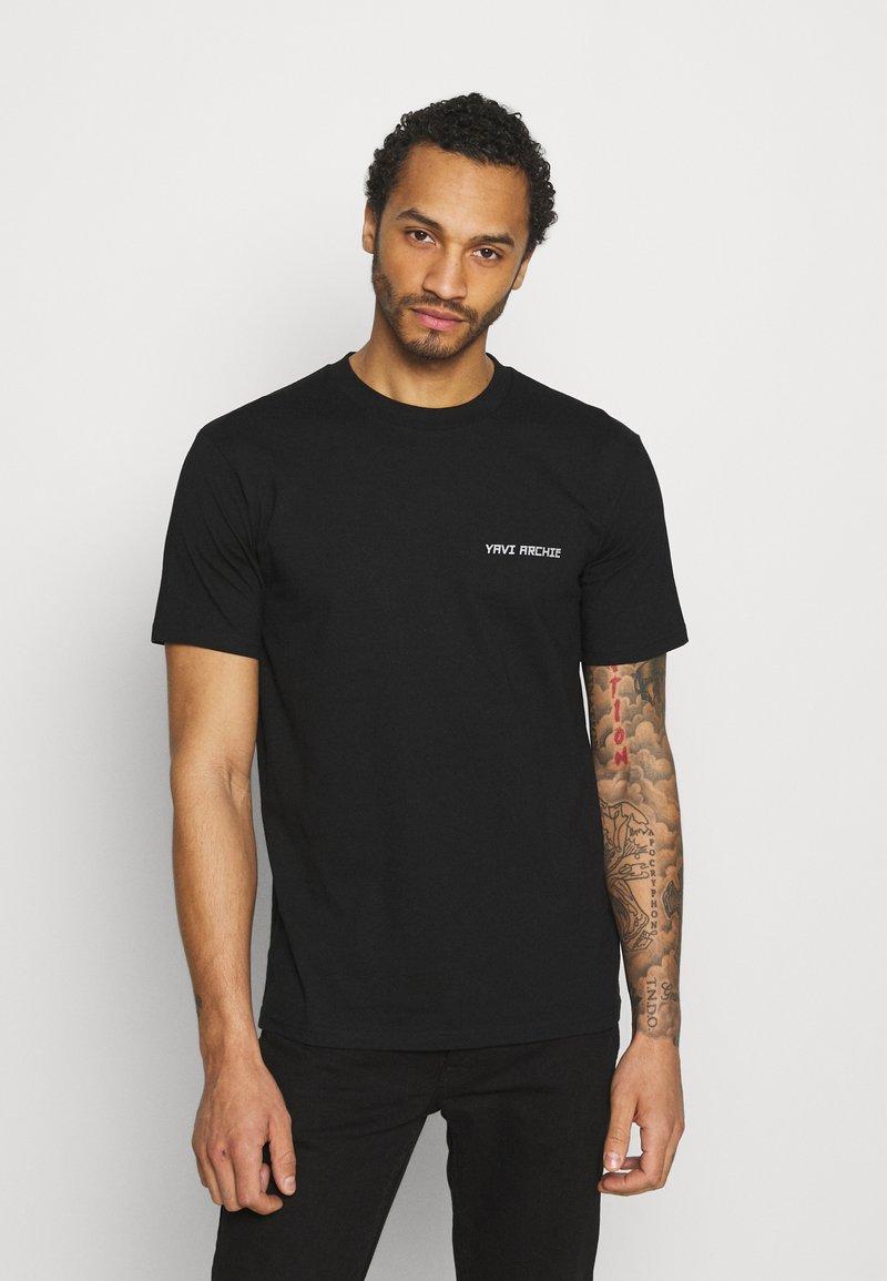 YAVI ARCHIE - Print T-shirt - black