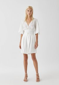 PULL&BEAR - Blouse - white - 1