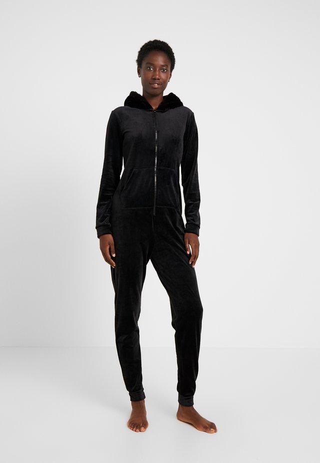 ONESIE SLIM - Pyjama - black