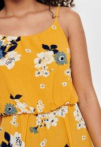 ONLY - ONLWINNER - Maxi dress - vibrant yellow - 3