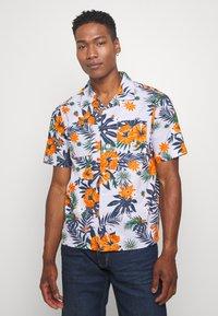 Knowledge Cotton Apparel - WAVE FLOWER SHIRT - Košile - multi-coloured - 0