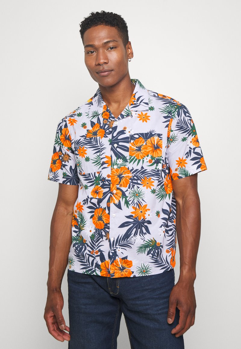 Knowledge Cotton Apparel - WAVE FLOWER SHIRT - Košile - multi-coloured