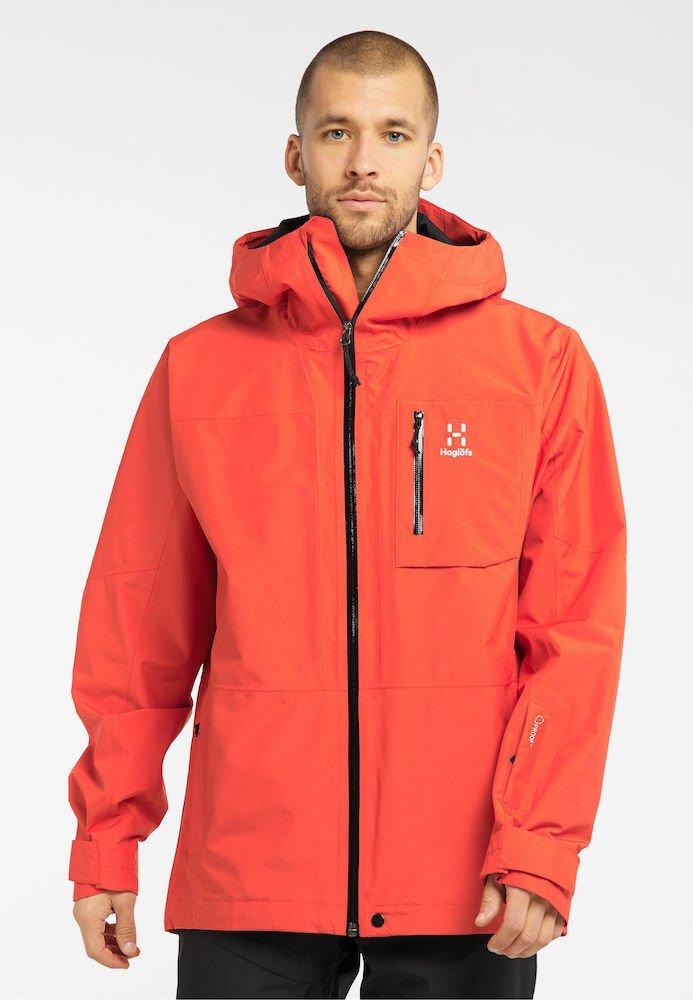 Haglöfs - LUMI JACKET - Ski jacket - habanero