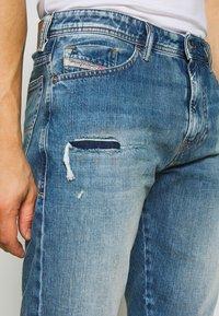 Diesel - THOSHORT - Szorty jeansowe - dark blue denim - 3