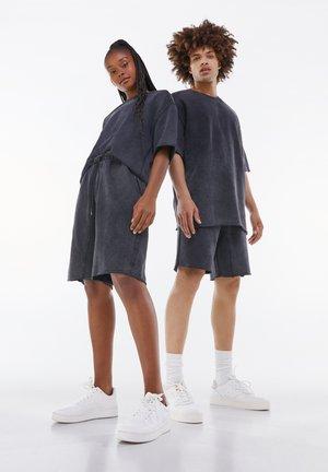 OVERSIZED SHORT SLEEVE SWEAT - T-shirt basique - grey
