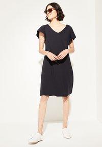 comma casual identity - Jersey dress - marine - 0