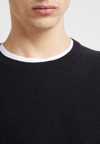 J.CREW - GARTER CREW - Stickad tröja - black - 4