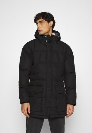 WOOD - Winter coat - black