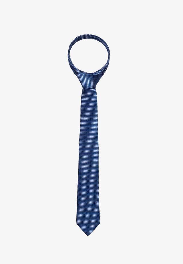BLEND MICRO DESIGN - Krawat - blue